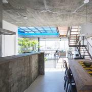 别墅简约餐厅设计