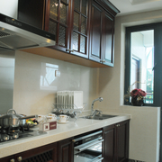 干净厨房装饰