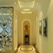 造型个性的走廊吊顶