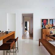 公寓长形餐桌设计