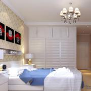 卧室简约衣柜图