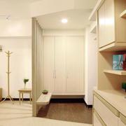 原木色房屋收纳柜展示