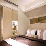 房屋温暖卧室装饰