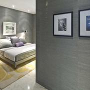公寓走廊装饰画布置