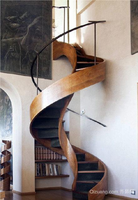 别具匠心的楼梯收纳装修效果图