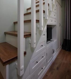 90平米朴素淡雅两室一厅家居装饰装修效果图