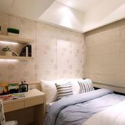 房屋小卧室背景墙设计