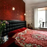 120平米卧室背景墙