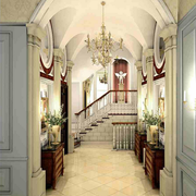 别墅玄关设计