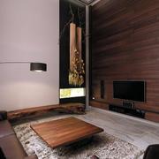 日式别墅客厅