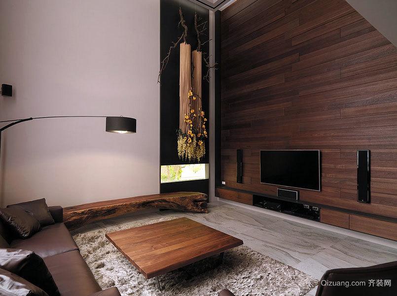 典雅日式高挑别墅装修设计效果图