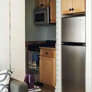 公寓家居小厨房橱柜展示