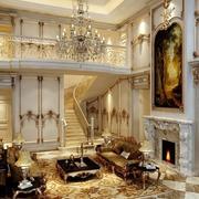 欧式超大豪华别墅楼梯
