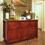房屋中式收纳柜设计