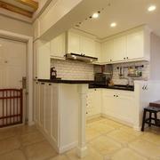 家居开放式小厨房