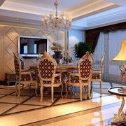 别墅精致餐厅设计
