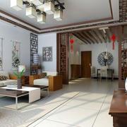 中式大客厅