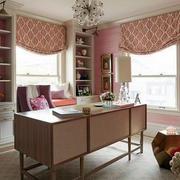 公寓甜美书房设计
