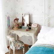 欧式田园室内卧室床头柜