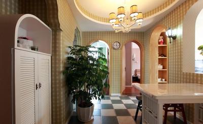 80平米小户型亮丽低调奢华田园风格的房屋装修效果图