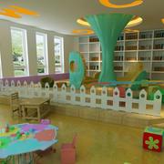 幼儿园教室精致设计