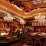 大气豪华餐厅设计
