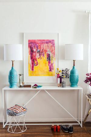 彩色的家居装饰