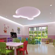 幼儿园教室创意吊顶