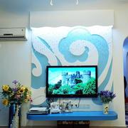 房屋个性电视背景墙