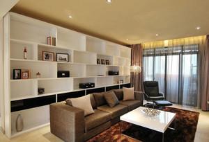 客厅置物柜设计