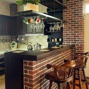 复式楼厨房吧台