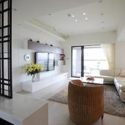 三室一厅客厅家装设计