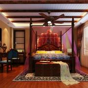 家居热情卧室设计