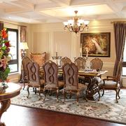 家居餐厅桌椅设计