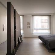 房屋简洁卧室装饰