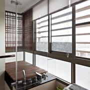家居卫生间百叶窗图片