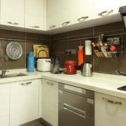 拐角厨房设计