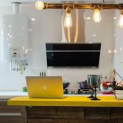 房屋摩登厨房灯饰展示