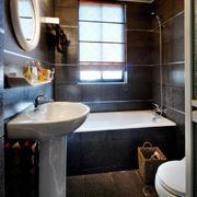 浴室宽大浴缸设计