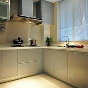 L字型厨房设计