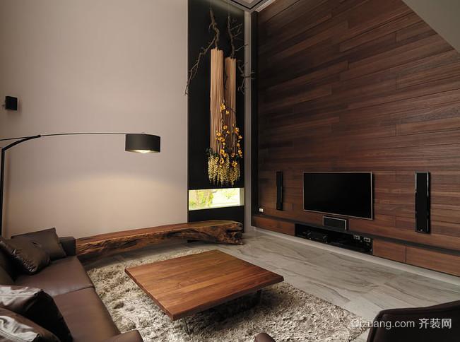 带有禅意的现代都市风格家居装修效果图