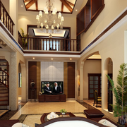 别墅扶手设计