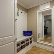 别墅实用玄关鞋柜设计