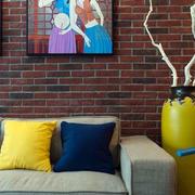 房屋客厅装饰品展示