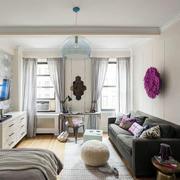 小户型公寓吊顶图