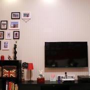 婚房简约电视背景墙