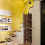 房屋楼梯收纳柜设计