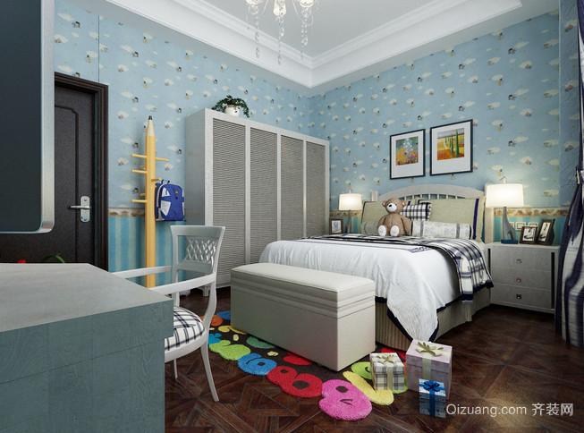 新中式风格儿童房设计装修效果图