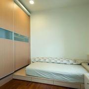 房屋小卧室榻榻米床展示
