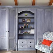 别墅木质收纳柜设计